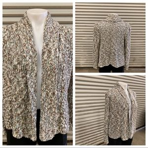 🛍️WendiRiver loose knit open front cardigan